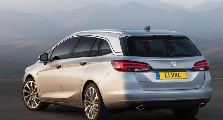 Opel показал новый универсал (фото)