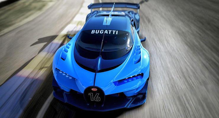 Bugatti создал гоночный авто из компьютерной игры