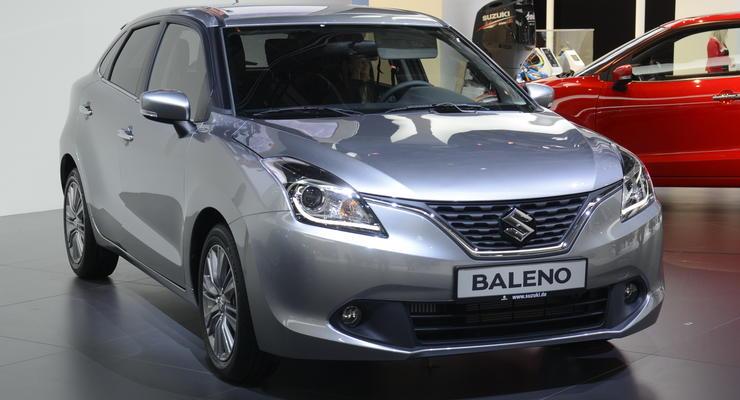 Компания Suzuki представила хэтчбек Baleno (фото)