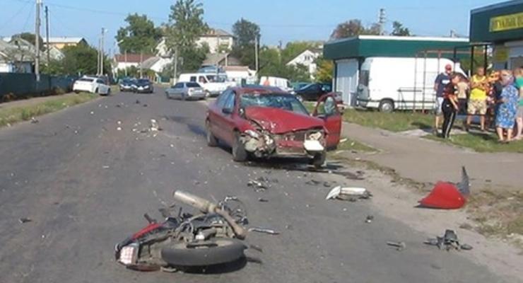 В Житомирской области пьяный судья сбил насмерть мотоциклиста