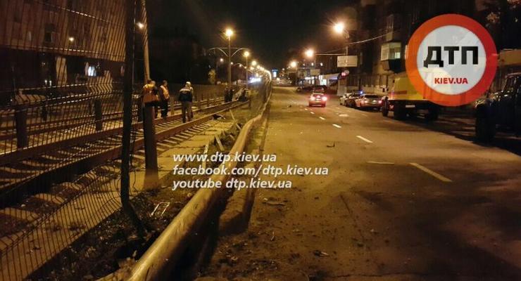 Ночная авария в Киеве