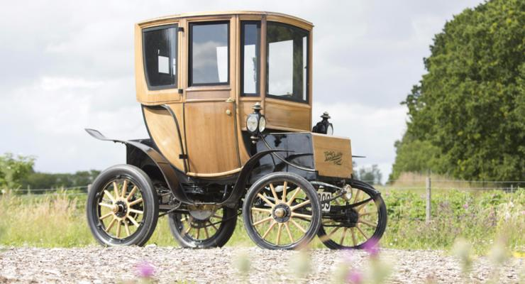 Электромобиль Woods Queen Victoria Brougham 1905 г.
