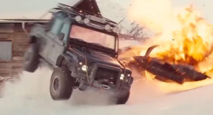 СМИ подсчитали, сколько потратили на автомобили в новом фильме о Джеймсе Бонде
