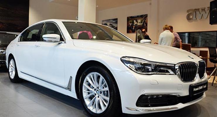 В Украине презентовали новую BMW 7-series