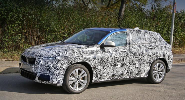 Прототип BMW X2 впервые вывели на тесты