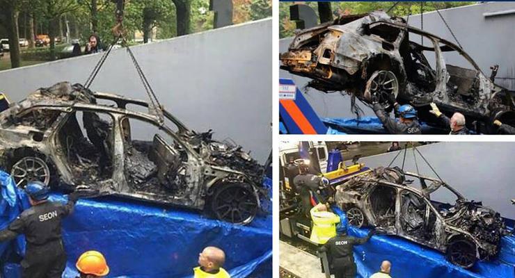 В Амстердаме украли и сожгли уникальную Audi RS6