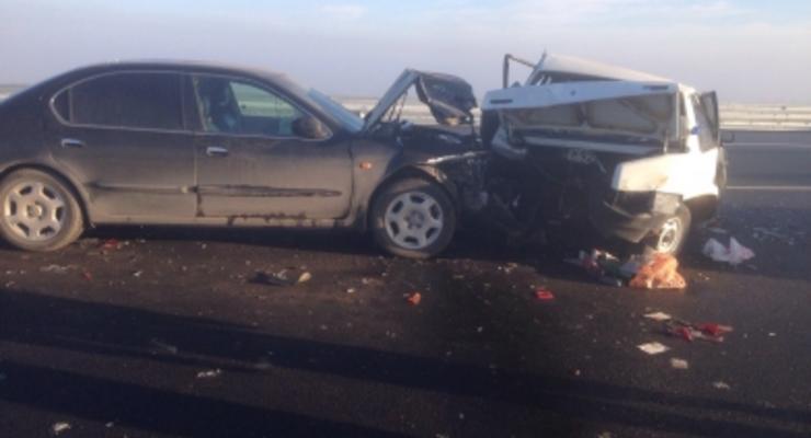 В России в массовую аварию попали 30 машин