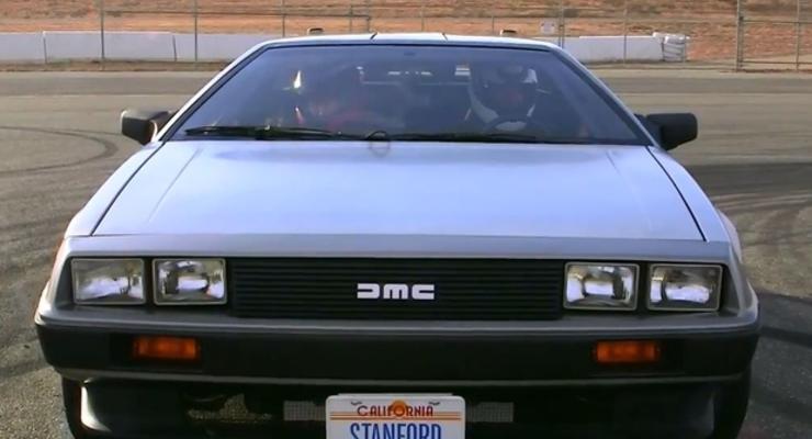 Назад в будущее: культовый DeLorean превратили в беспилотник