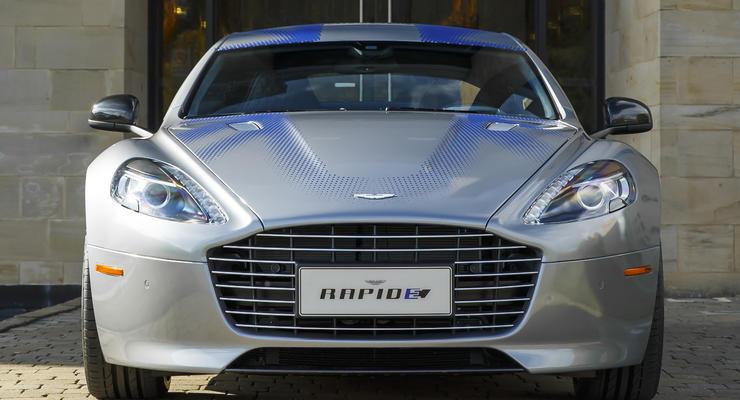 Aston Martin показал люксовый электромобиль Rapide