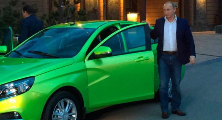 Путин характеризовал новую Lada Vesta неожиданным емким словом