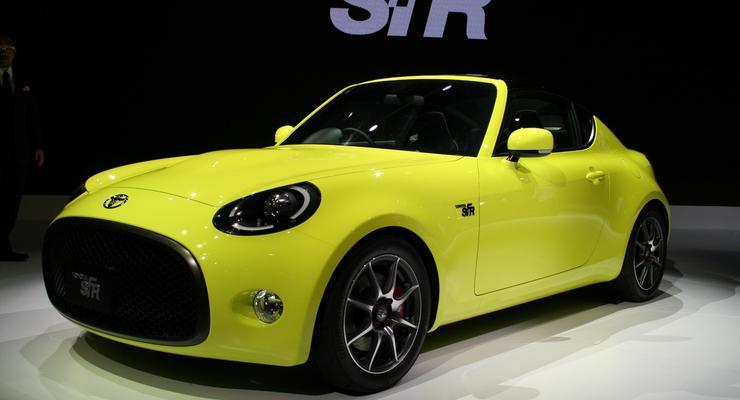 Toyota показала в Токио концепт спорткара S-FR (фото)