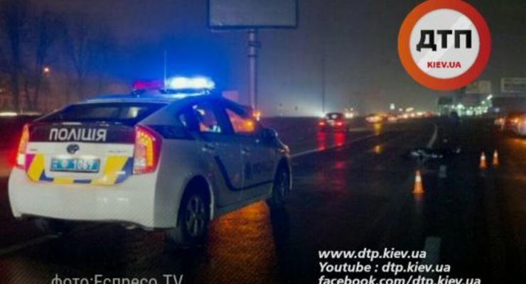 В Киеве Range Rover насмерть сбил пешехода