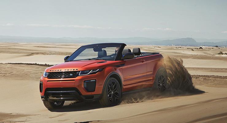 Компания Range Rover показала свой первый кабриолет (фото)