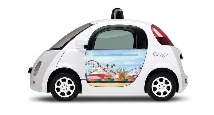 Google представила новый дизайн своих самоуправляемых автомобилей (фото)