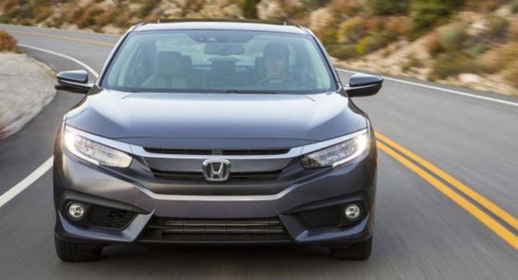Новое поколение купе Honda Civic покажут в Лос-Анджелесе