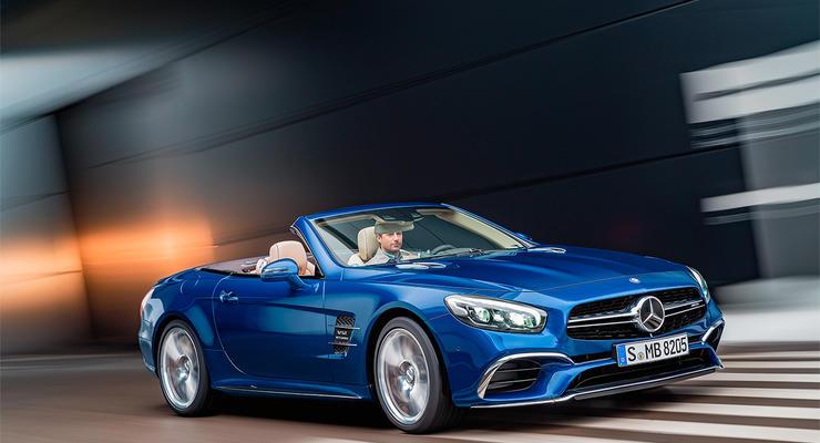 Компания Mercedes показала обновленный родстер SL (фото)