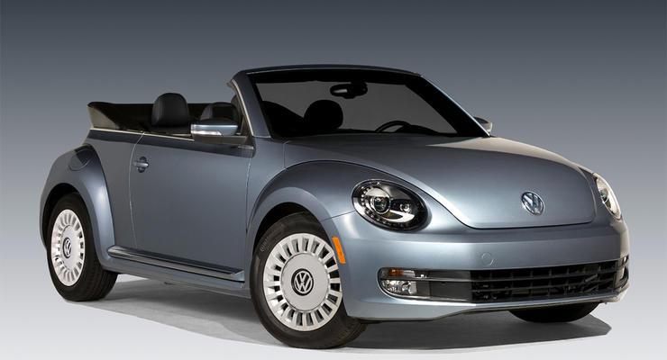 Компания Volkswagen представила кабриолет Beetle (фото)