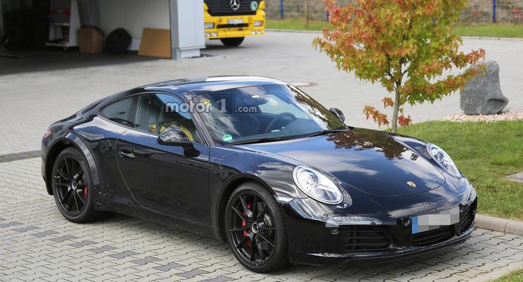 Компания Porsche вывела на тесты новое поколение модели 911 (фото)