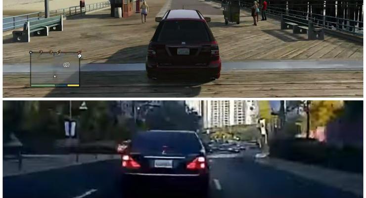 В Корее безрассудный водитель устроил GTA на улицах (видео)