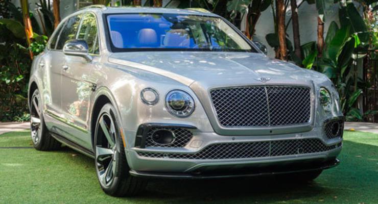 Bentley создаст Bentayga в кузове купе