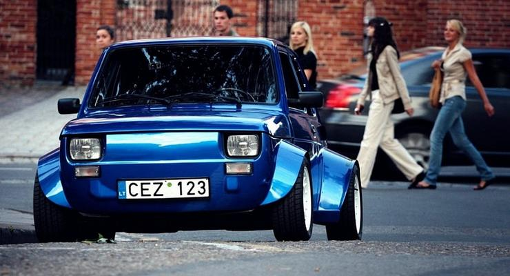 Бешеная блоха: Fiat 126p превратили в горячий хэтчбек