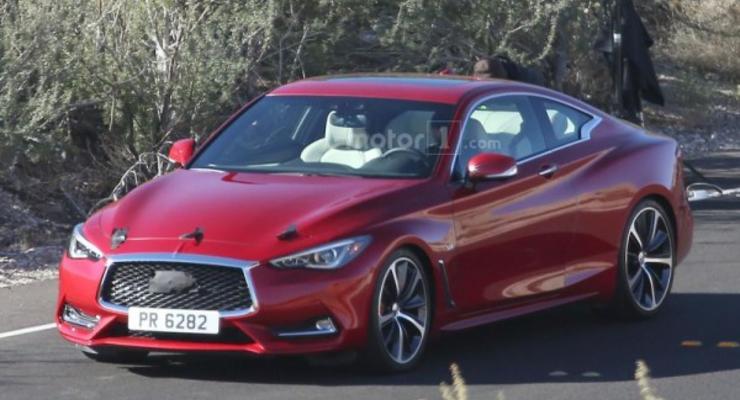 Новое купе от Infiniti заметили без маскировки (фото)