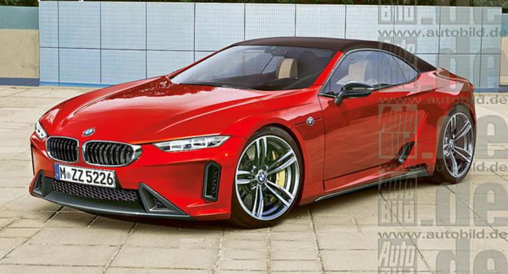 Журналисты узнали первые подробности о BMW Z5