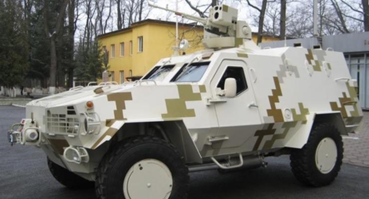 Укроборонпром: Бронеавтомобиль Дозор-Б готов к использованию в боевых условиях
