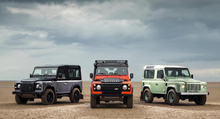 Стала известна дата выхода нового  Land Rover Defender