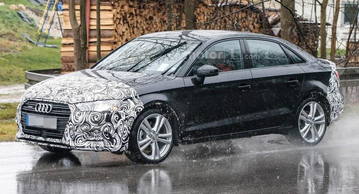 На тесты вывели обновленный седан Audi A3 (фото)