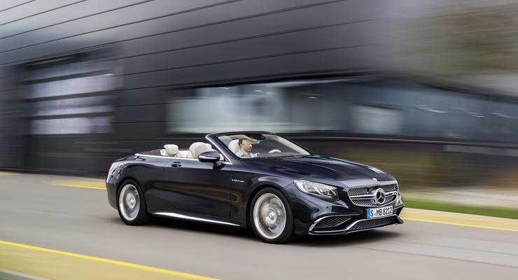 Mercedes-AMG официально представил кабриолет S65 (фото)