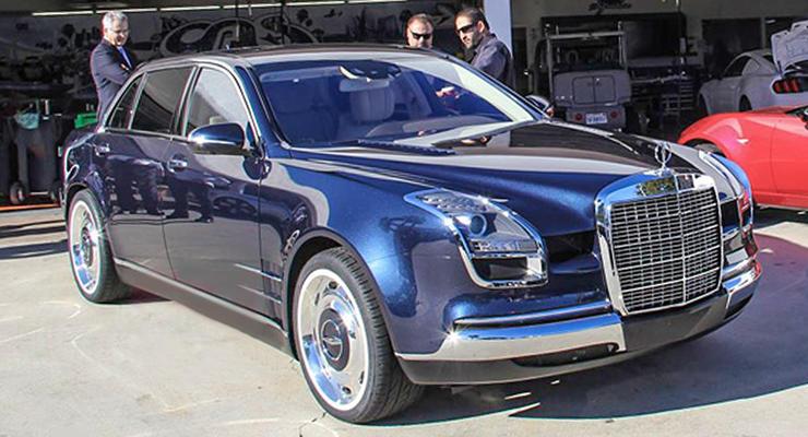 Тюнеры собрали роскошный седан из частей разных Mercedes