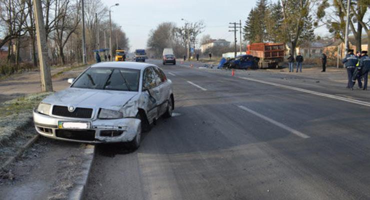 В Ровно полицейский устроил ДТП - СМИ