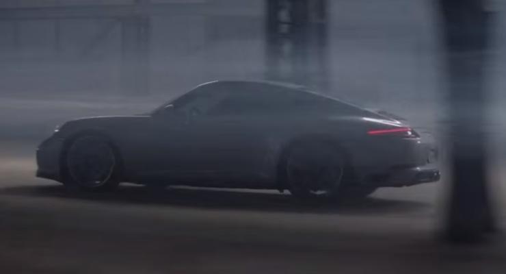 Porsche снял рекламу модели 911 с известными спортсменами (видео)