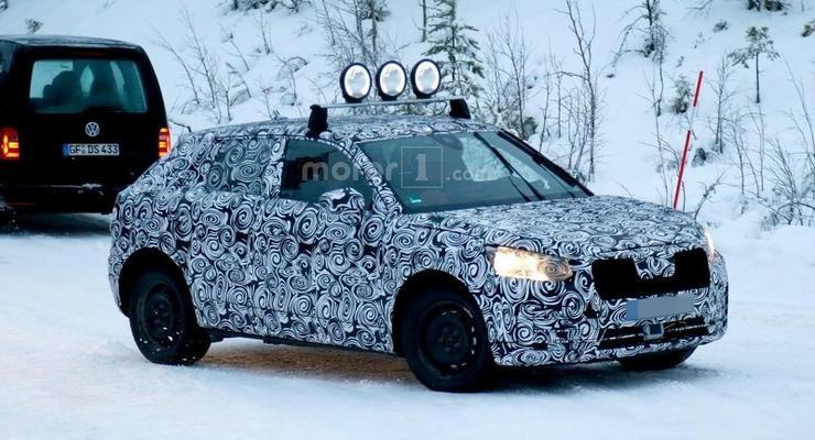 Audi вывела на тесты маленький кроссовер Q2 (фото)