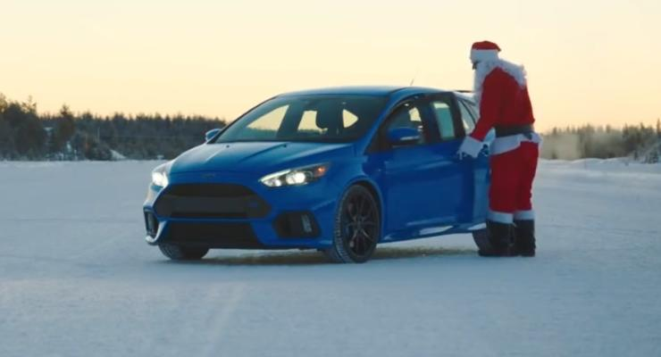 Скоро, скоро Новый год: Ford выпустил праздничный ролик (видео)