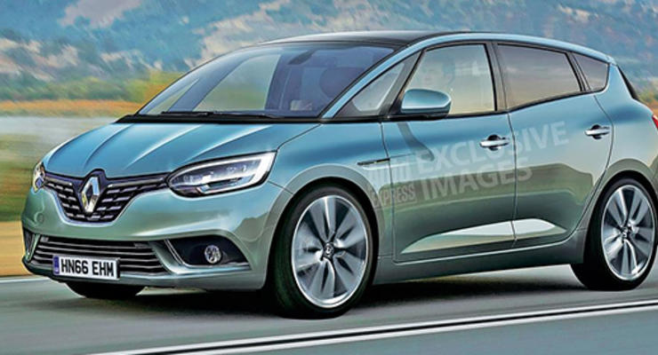 Компания Renault назвала дату премьеры нового поколения Scenic