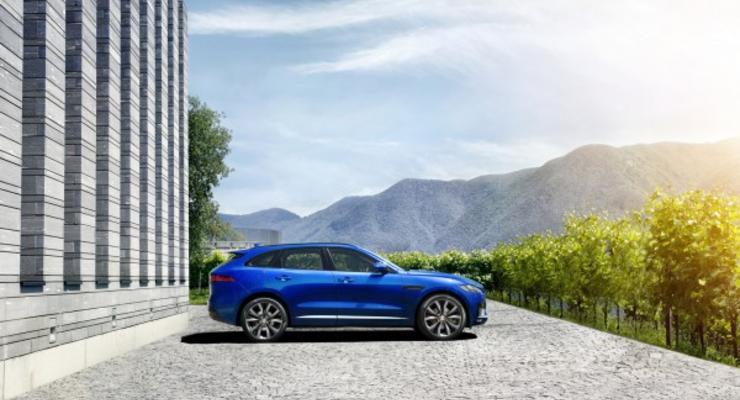 Дилер Jaguar назвал украинские цены на модель F-PACE