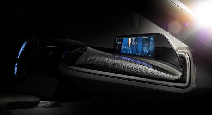 """Компания BMW показала тизер """"автомобиля из будущего"""""""
