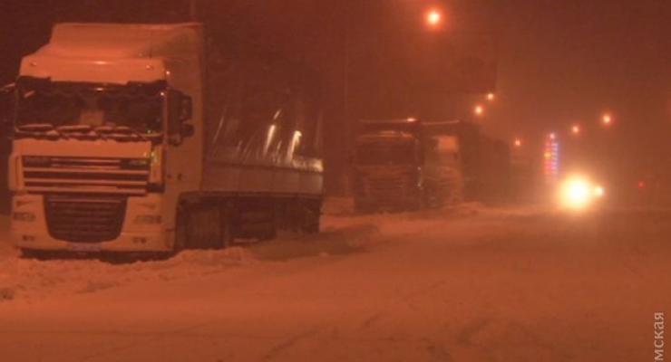 Трассу Одесса - Киев открыли для некоторых автомобилей