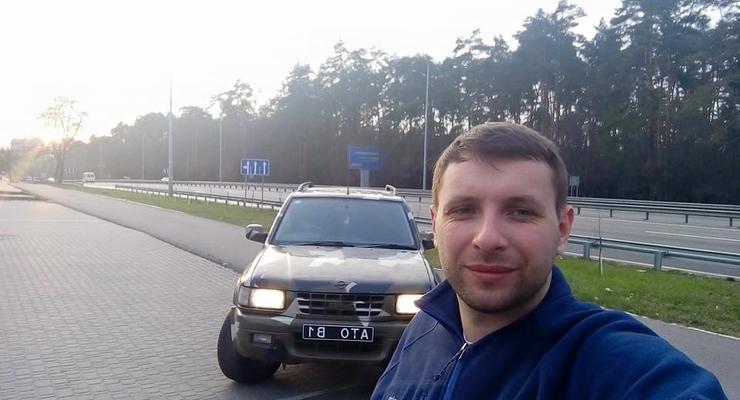 Во Львове нардепа Парасюка оштрафовали за езду без прав
