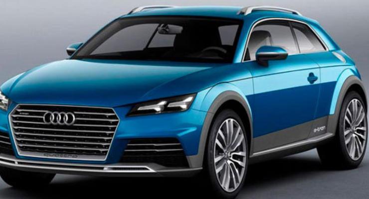 Audi анонсировала электрический кроссовер к 2018 году