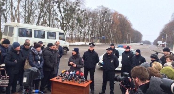 Дорожная полиция начала работу на трассах Львовской области