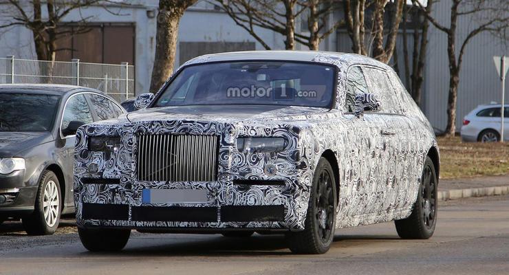 Rolls-Royce вывел на тесты новое поколение Phantom