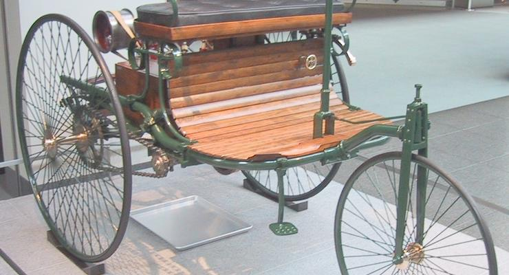 День рождения автомобиля: 130 лет назад был получен патент на мотоколяску