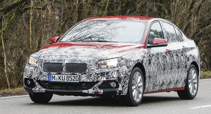 Компания BMW вывела на тесты новое поколение 1-Series