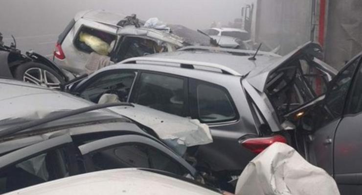 В Словении в масштабном ДТП c участием 70 авто погибли четыре человека