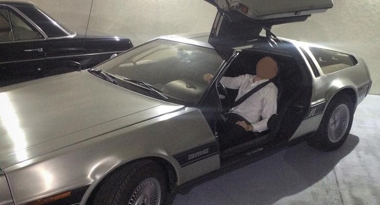Журналисты нашли хозяина единственного DeLorean в Украине