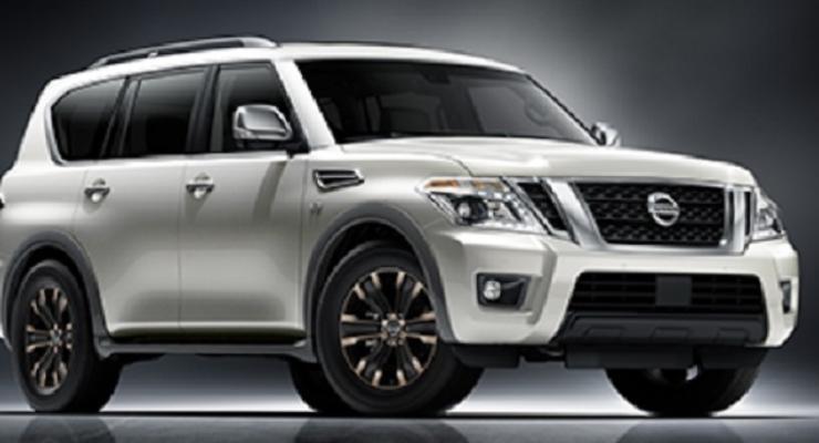 Внедорожник Nissan Armada показали до премьеры