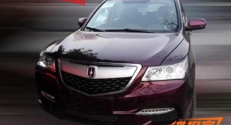 В Китае создали дешевый клон кроссовера Acura